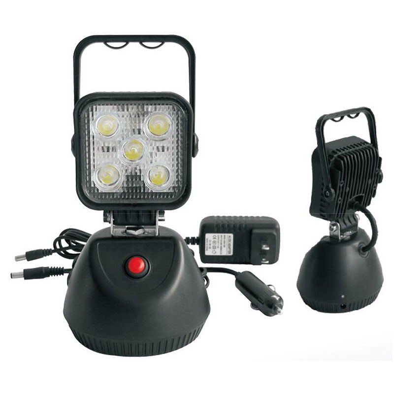 Oppladbar LED-arbeidslys 12/24V